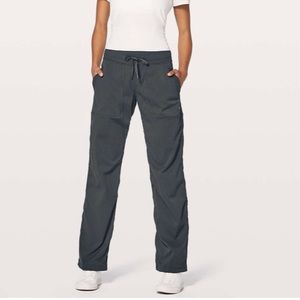 • Lululemon • Dance Studio Pant Unlined Blue Tied